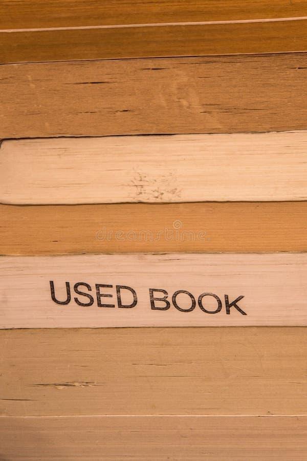 Buch-Papierbeschaffenheit lizenzfreies stockbild