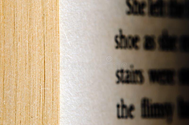 Buch-Seiten stockfotografie