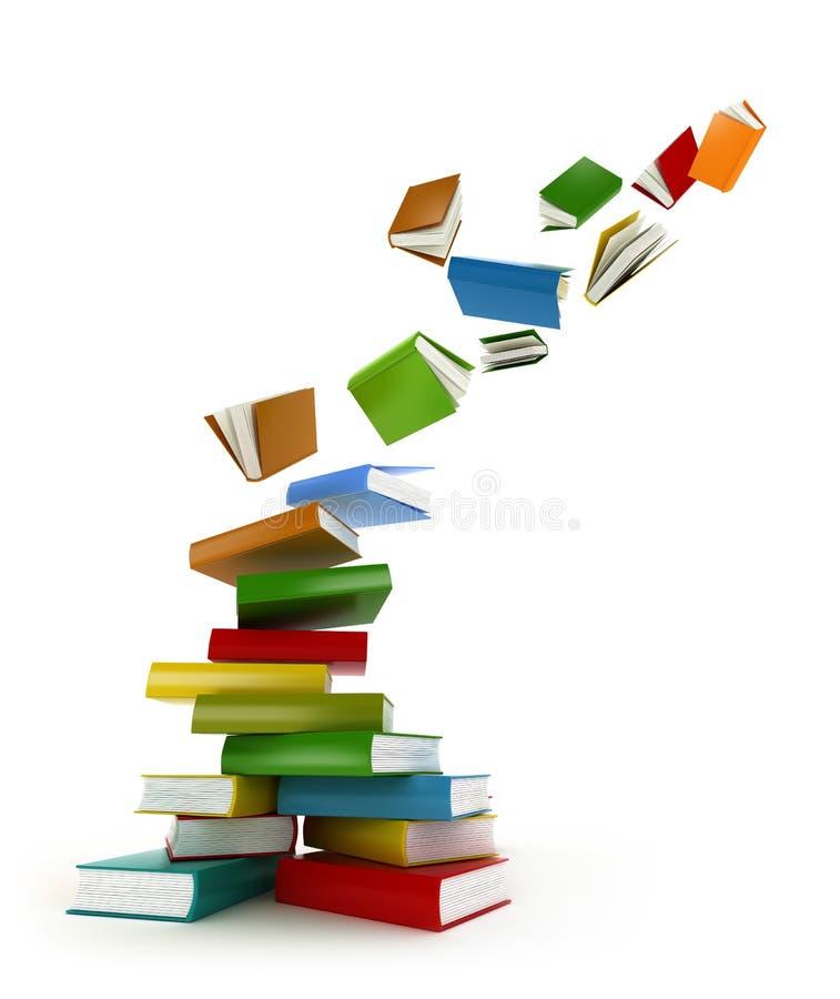 Buch-Tornado lizenzfreie abbildung