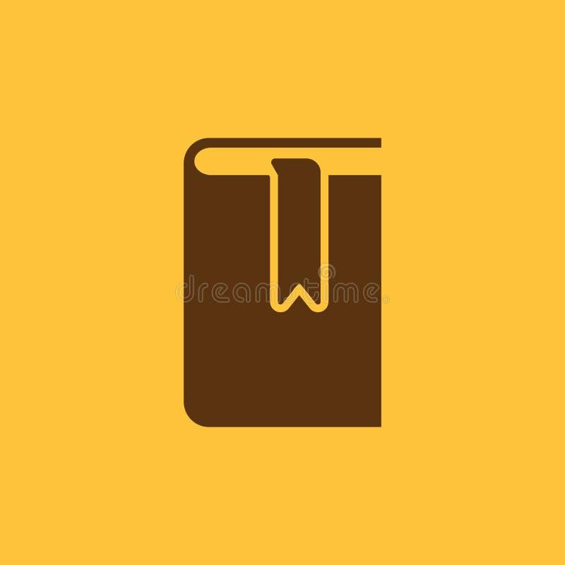 Buch- und Bookmarkikone ENV 10 Bibliothek, Bookmarksymbol web graphik jpg ai app zeichen nachricht flach bild lizenzfreie abbildung