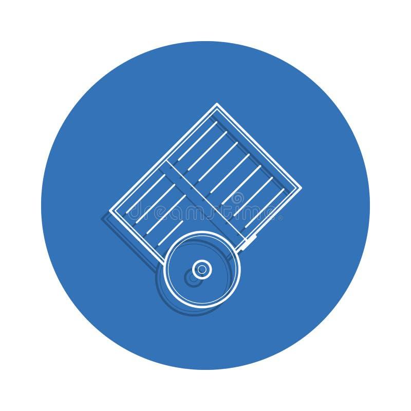 Buch- und CD-Ausweisikone Element der Bildung für bewegliches Konzept und Netz apps Ikone Dünne Linie Ikone mit Schatten im Auswe lizenzfreie abbildung