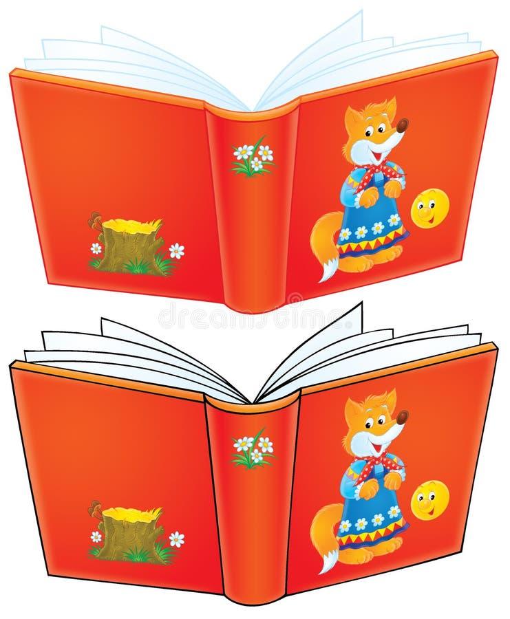 Buch von Märchen lizenzfreie abbildung