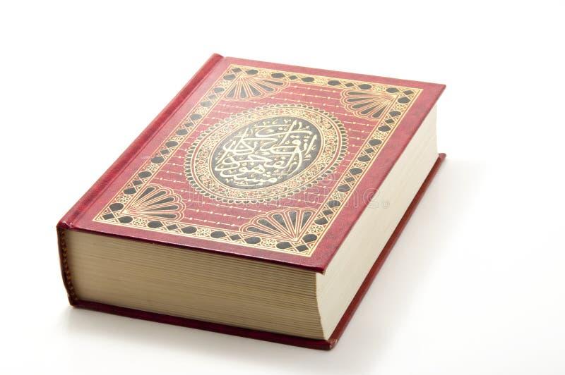 Buch von Quran lizenzfreie stockbilder