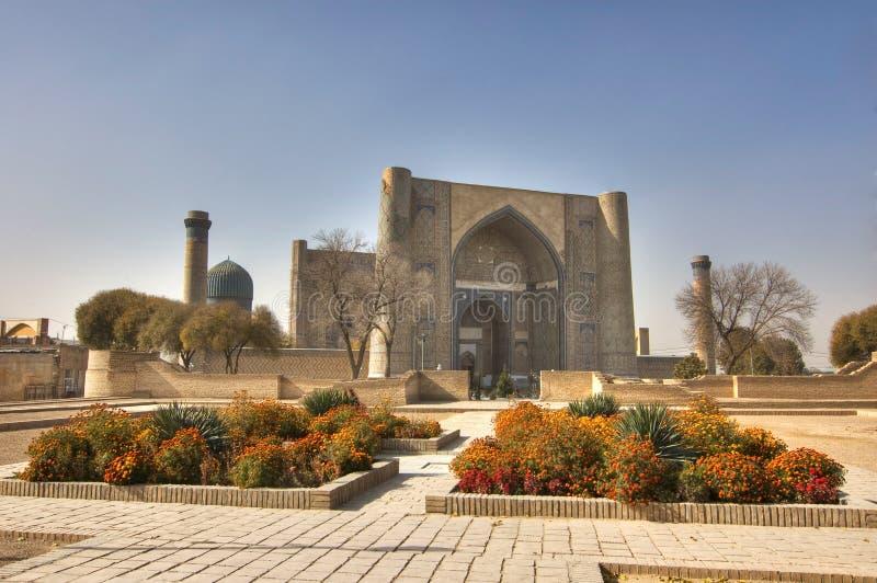 Buchara 2500 anni della città immagine stock libera da diritti