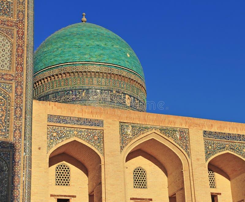 Buchara: Madrasa dell'arabo del MIR i immagini stock libere da diritti