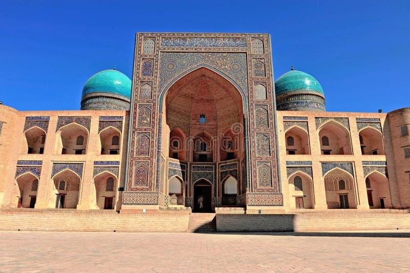 Buchara: Madrassah dell'arabo del MIR i fotografie stock