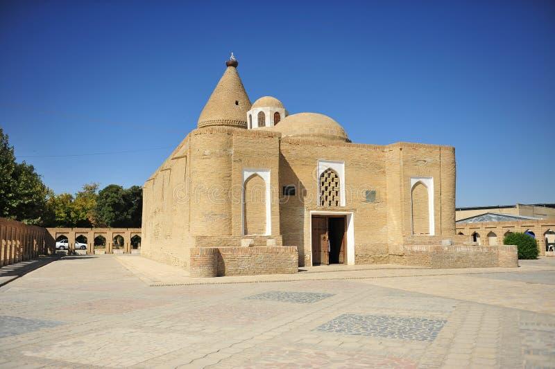 Buchara: Mausoleo di Chashma-Ayub immagini stock libere da diritti