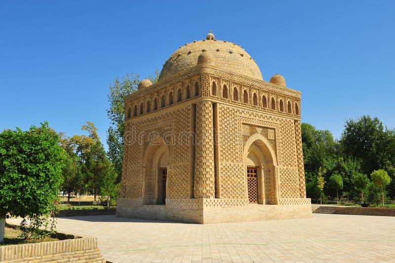 Buchara: Mausoleo di Samani Ismail fotografie stock libere da diritti