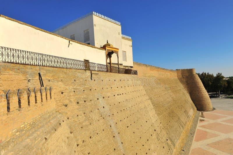 Buchara: vecchia fortificazione immagini stock