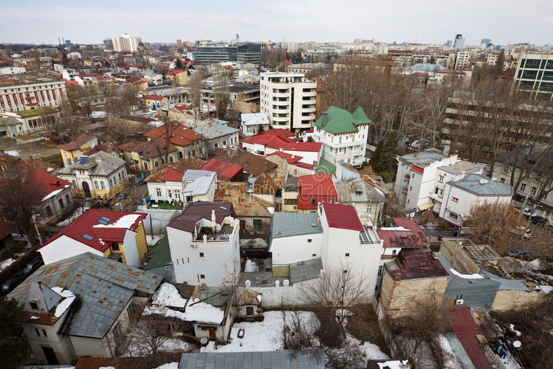 Download Bucharest stock photo. Image of rooftops, apartments - 24086680