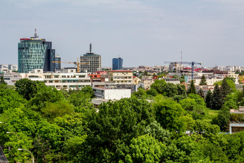 Download Bucharest editorial stock photo. Image of line, build - 26667703
