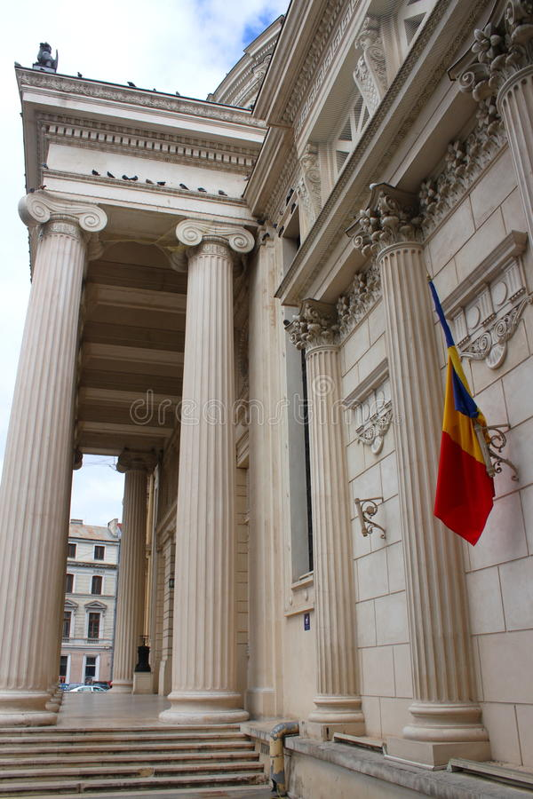 Download Bucharest - The Athenaeum stock image. Image of blue - 34067979