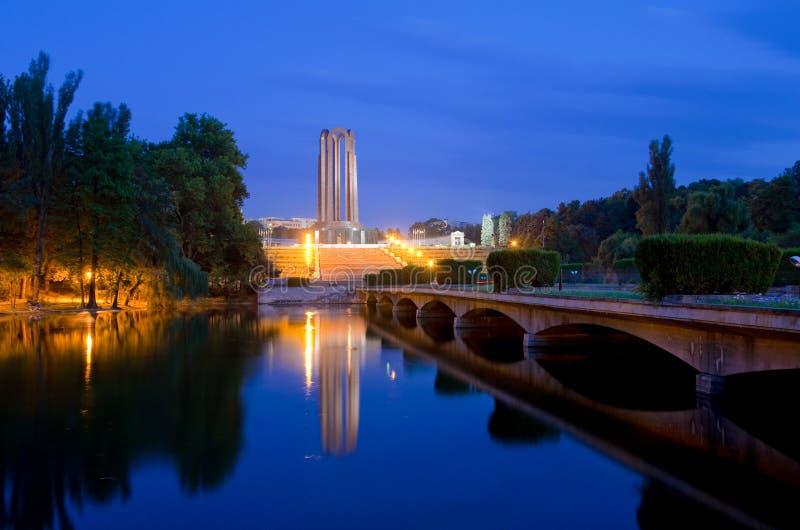 Bucharest - Carol Park royaltyfria bilder