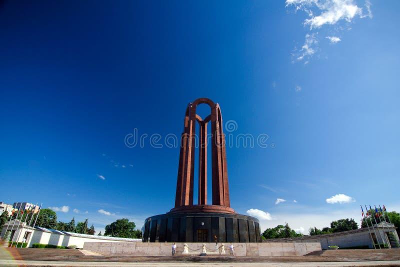 Bucharest - Carol Park Mausoleum royalty free stock photos
