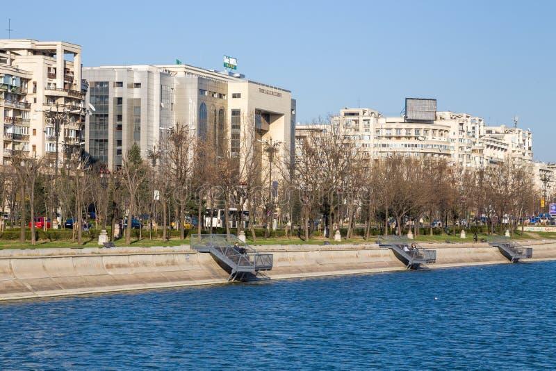 Bucharest,center of city stock photography