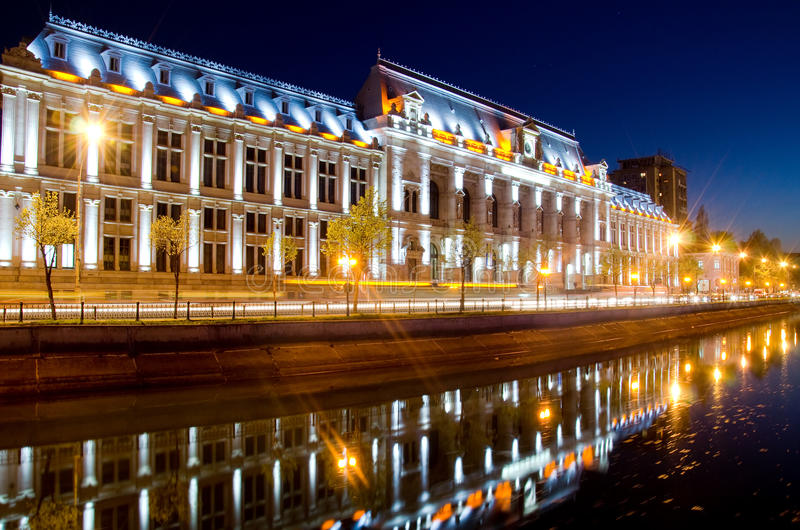 Bucharest center by night