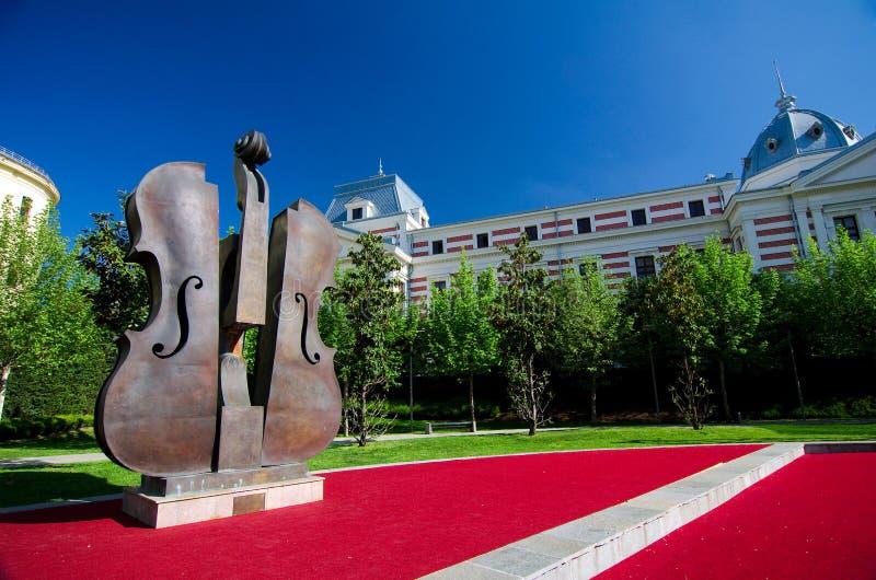 Bucharest - Coltea Park royalty free stock image