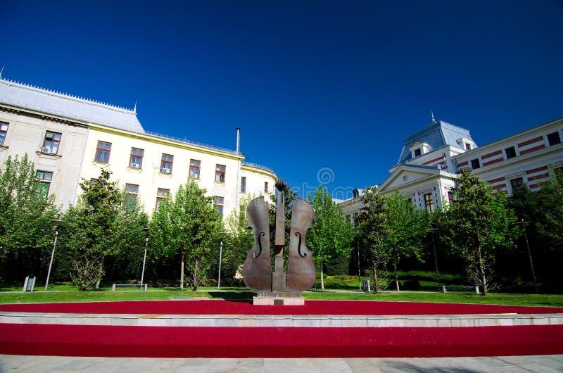 Bucharest - Coltea Park stock photography