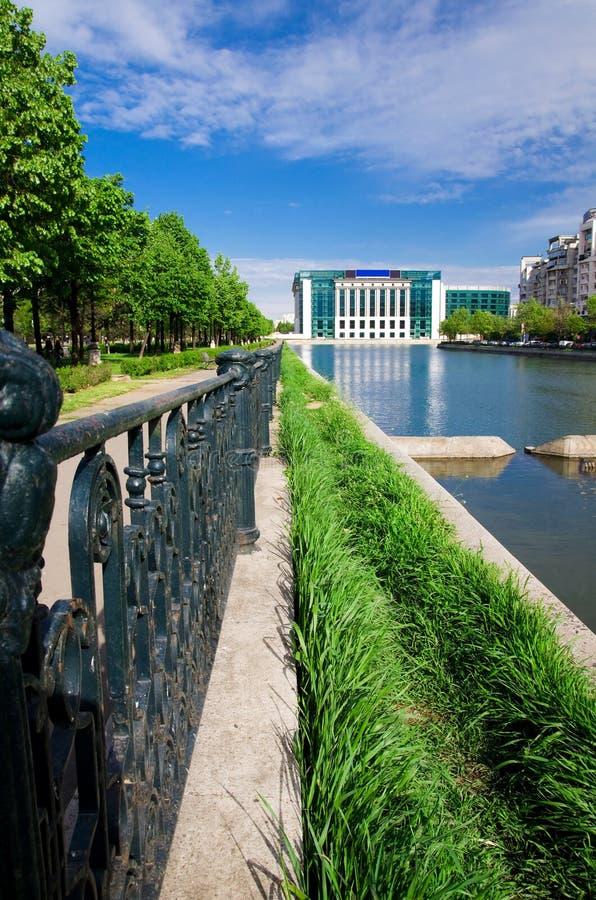 Free Bucharest - Dambovita River Stock Photography - 24596742