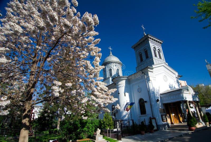 Bucharest - Icoanei kyrka fotografering för bildbyråer