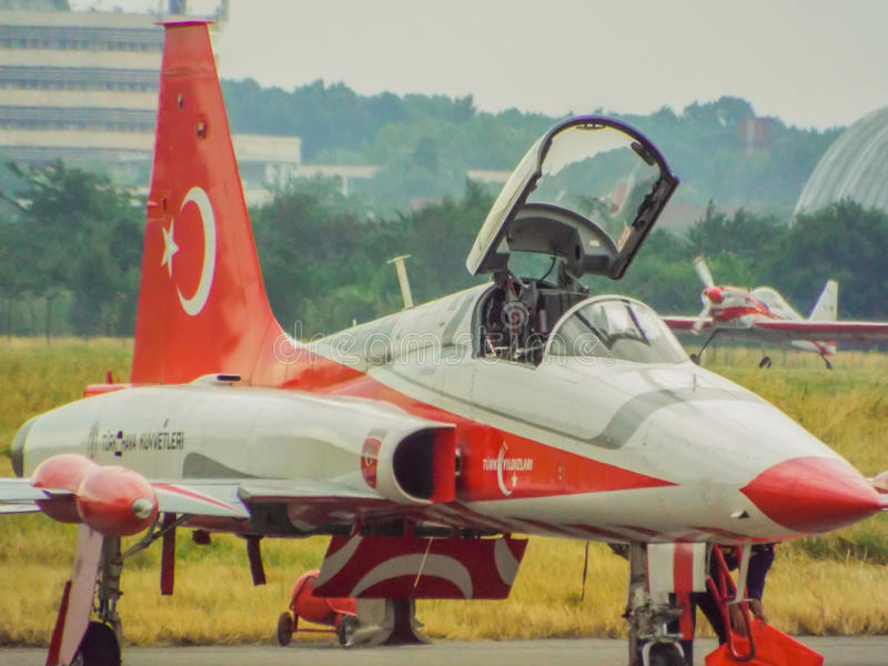 bucharest international air show 2016 ,civil and military air show from Bucharest, Romania royalty free stock image