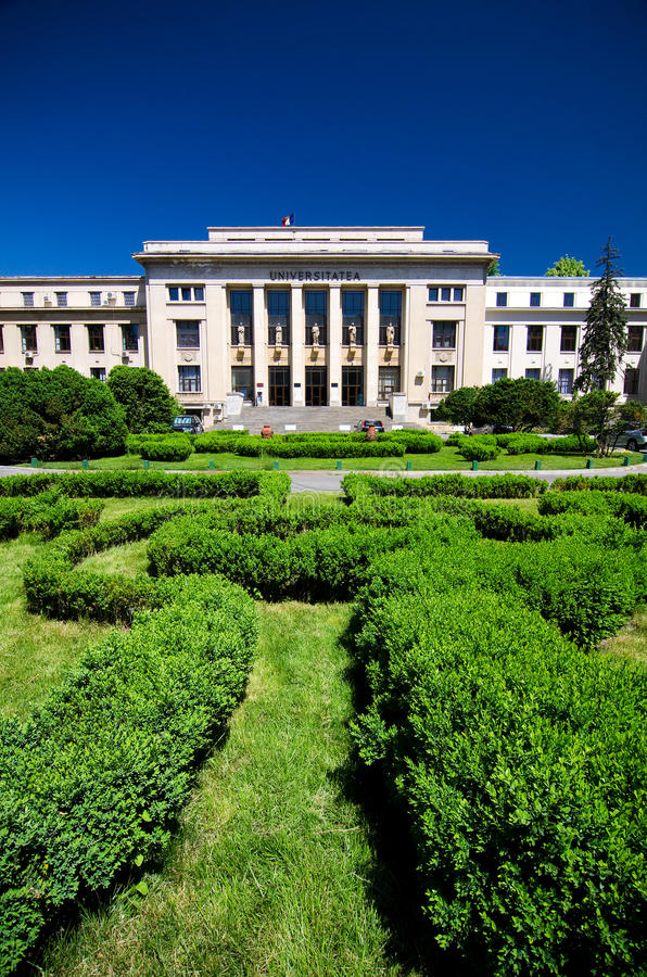 Bucharest - Law School stock photo