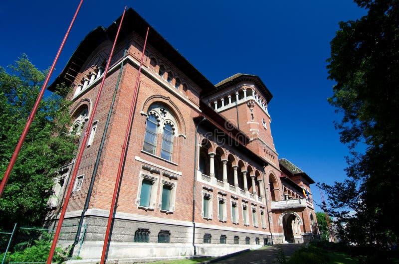 Bucharest - muzeum Rumuński chłop zdjęcia stock