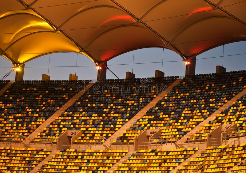 Bucharest nationell arenastadion, detalj