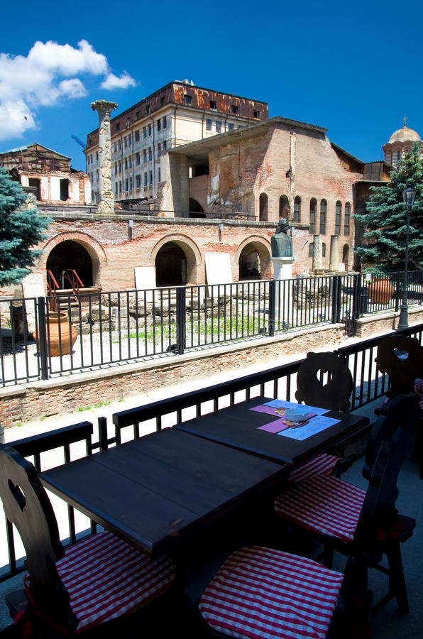 Bucharest - The Old Court Stock Images
