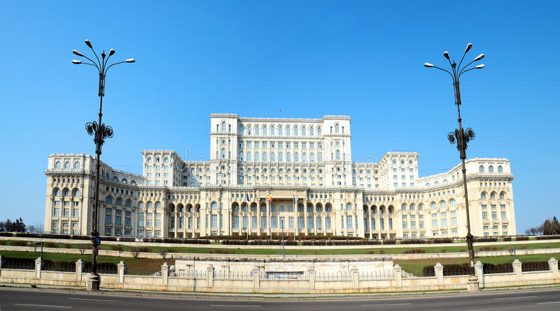 Download Bucharest - Parliament Palace Stock Image - Image: 18926637