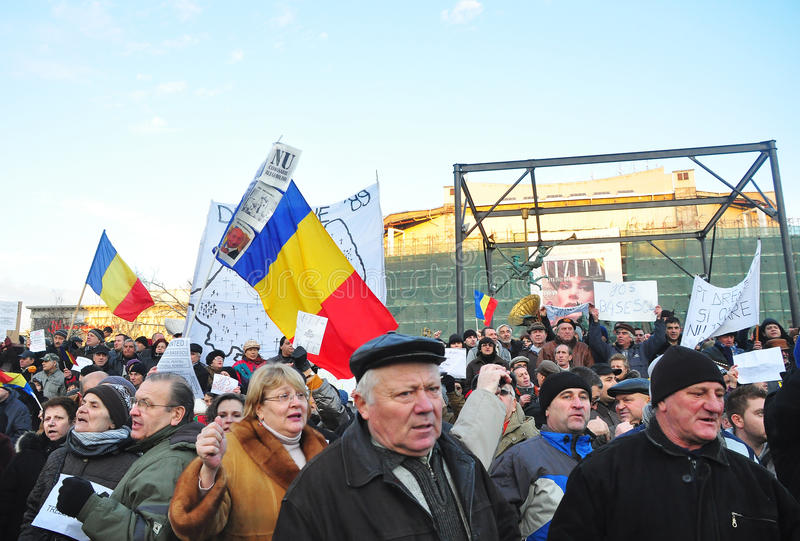 Download Bucharest Protest - University Square 5 Editorial Image - Image: 22849795