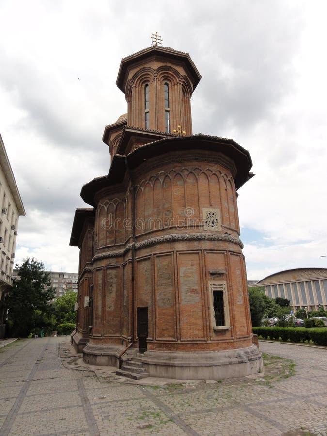 Bucharest Roamania. Small church in Bucharest, romania stock photo