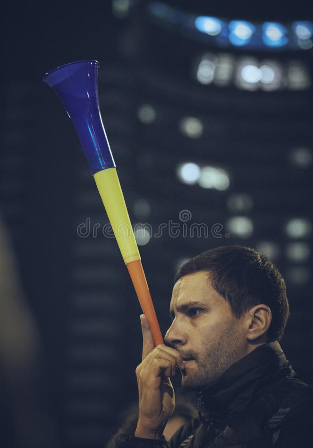Protests against Rosia Montana gold mine, Bucharest, Romania royalty free stock photo