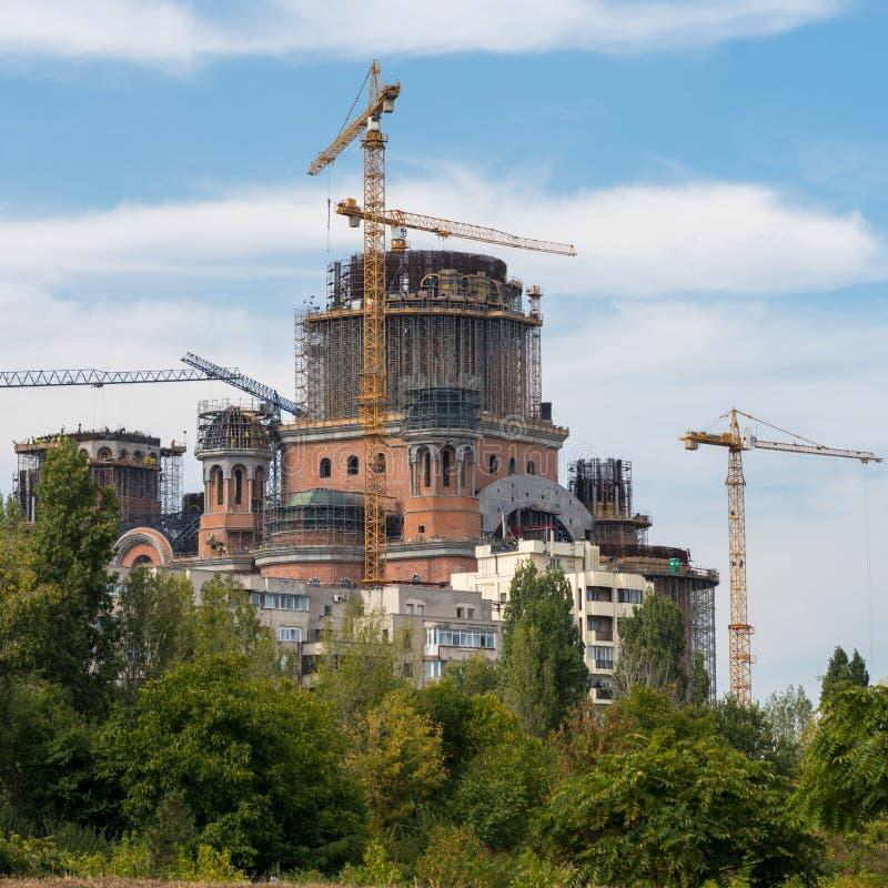BUCHAREST/ROMANIA - SEPTEMBER 21: Den rumänska folk`en s Salvati arkivbilder