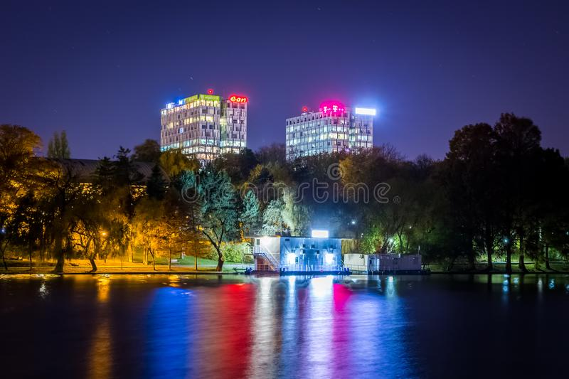 Bucharest seen through the lens of an explorer royalty free stock images