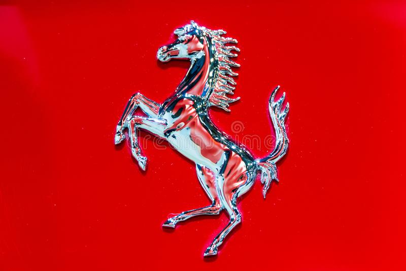 bucharest sklep Ferrari obrazy stock