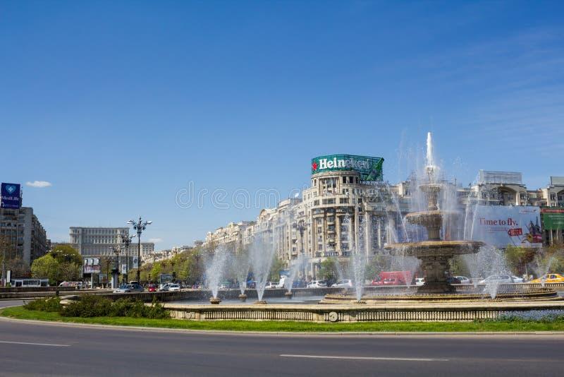 Bucharest-Stadtmitte stockfotos
