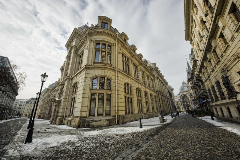 Bucharest stary miasto fotografia stock