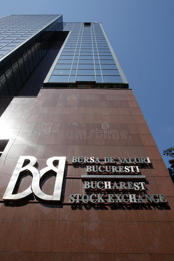 Bucharest Stock Exchange royalty free stock images