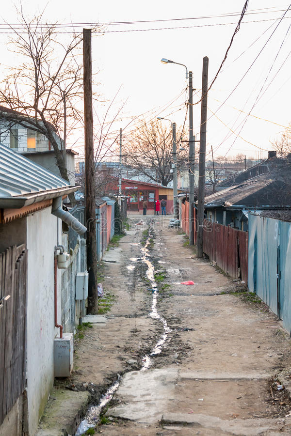 Bucharest suburbs royalty free stock image