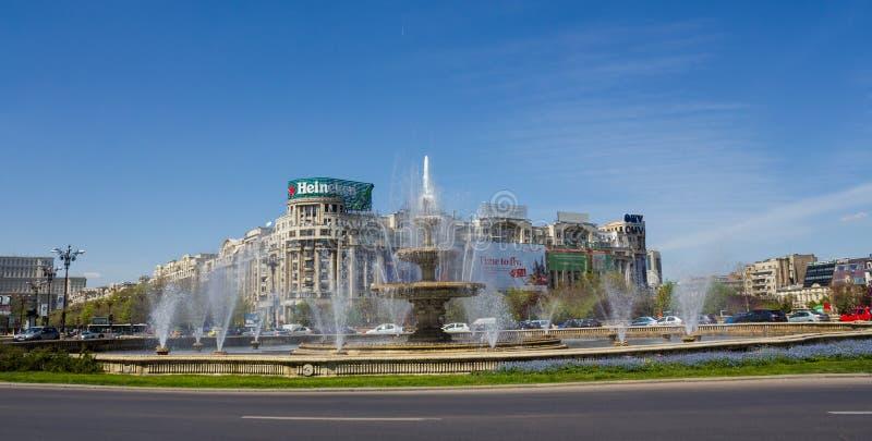 Bucharest town center stock photo