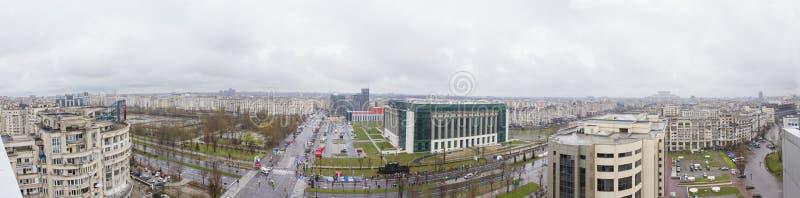 Bucharest widok fotografia royalty free
