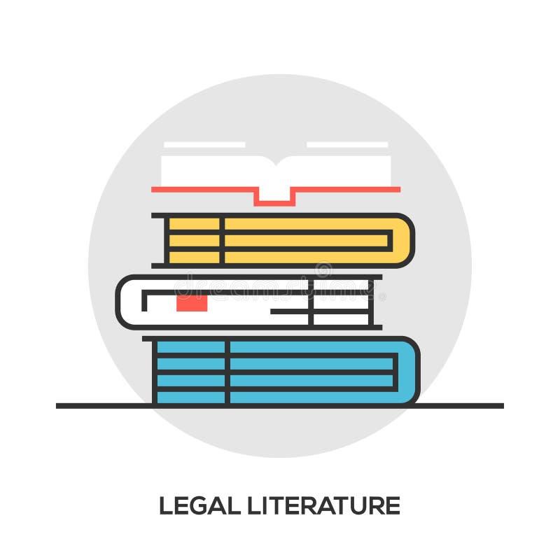 Buchen Sie Linie Ikone, Entwurfsvektorzeichen, das lineare Artpiktogramm, das auf Weiß lokalisiert wird Bibliothekssymbol, Logoil stock abbildung