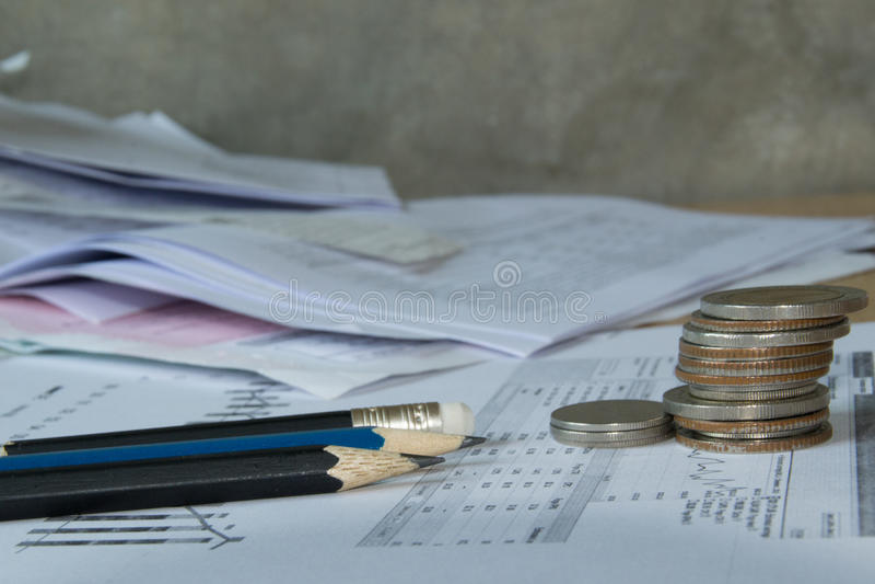 Buchhalterjobs lizenzfreie stockfotos