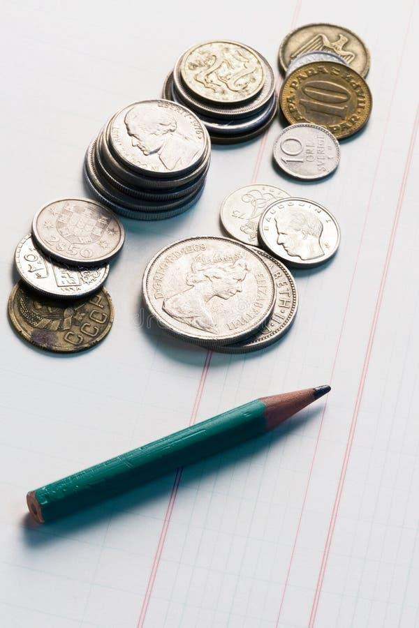 Buchhaltung lizenzfreies stockfoto