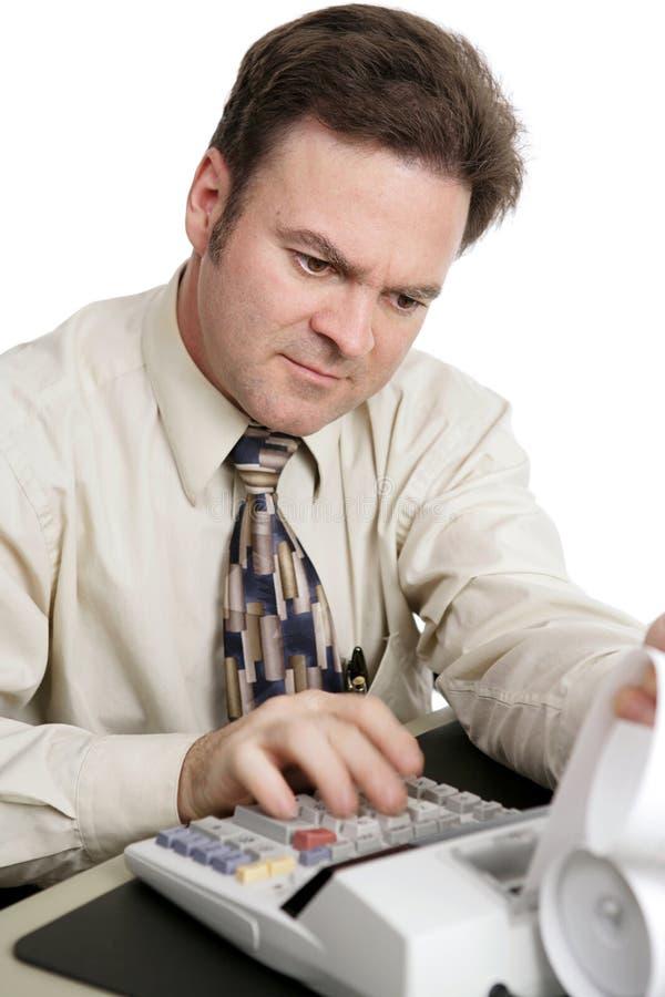 Buchhaltung-Serie - Berechnungen lizenzfreies stockbild