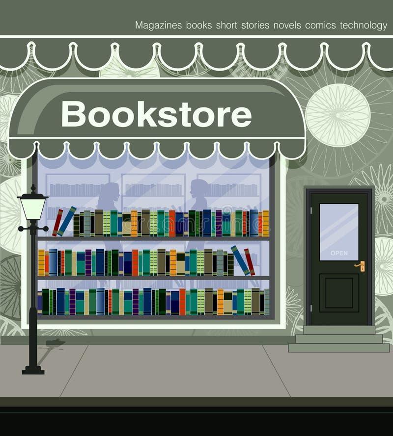 Buchhandlung vektor abbildung