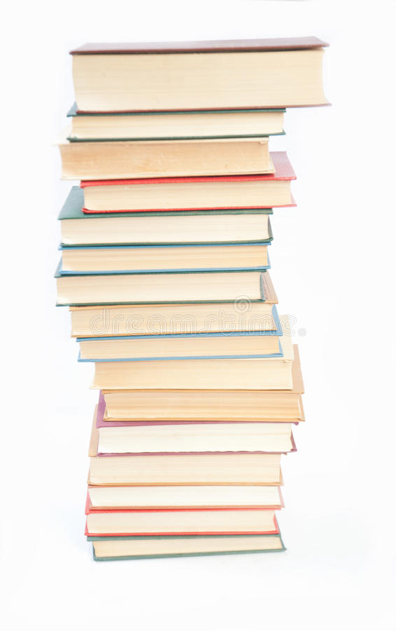 Download Buchhaufen stockfoto. Bild von literatur, hardcover, bibliothek - 27726942