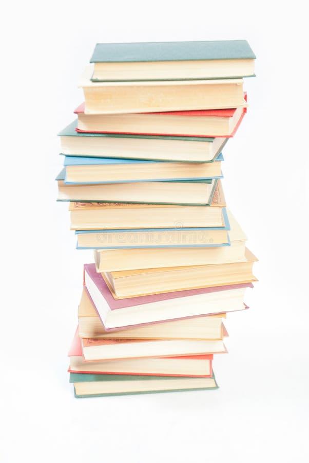 Download Buchhaufen getrennt stockbild. Bild von literatur, haufen - 27726975