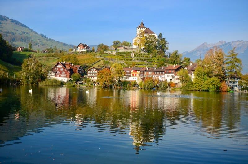 Buchs, Zwitserland royalty-vrije stock fotografie